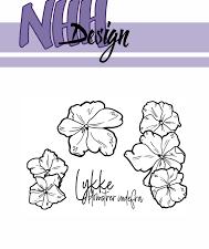 NHHC023 NHH Design Stempel, Flower-1-0