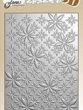 BLE1010 By Lene Embossingfolder 3D, Daisies-0