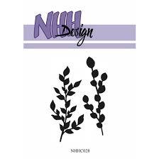 NHHC028 NHH Design Stempel, Branches-0
