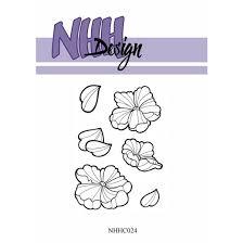 NHHC024 NHH Design Stempel, Flower-2-0
