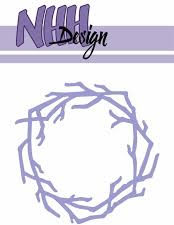 NHHD816 NHH Design Die, Wreath-1-0