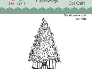 Stampl094 Dixi Craft Clearstamp, Christmas Tree-0