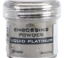 EPJ37484 Ranger Embossing Powder, Liquid Platinum-0