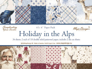 710596 Maja Design Papirsblok Holiday In The Alps-0