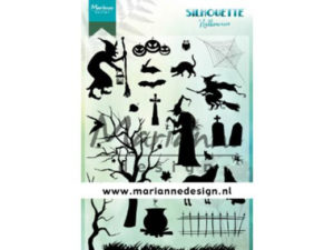 CS1039 Marianne Design Stempel Silhouette Halloween-0