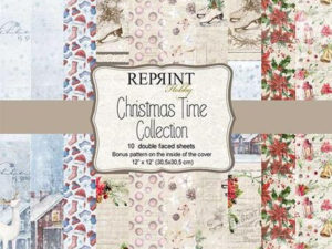 CRP008 Reprint Papir 30x30, Christmas Time Collection-0