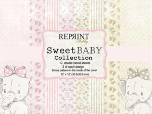 CRP010 Reprint Papir 30x30, Sweet Baby Collection -0