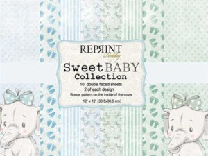 CRP011 Reprint Papir 30x30, Sweet Baby Collection -0