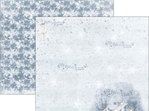 RP0287 Reprint Designpaper 30x30, Christmas Time - Glittery Night-0