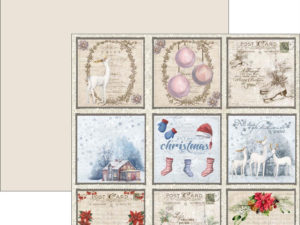 RP0290 Reprint Designpaper 30x30, Christmas Time - Tags 1-0
