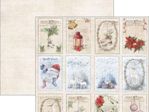RP0294 Reprint Designpaper 30x30, Christmas Time - Tags 2-0