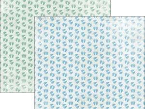 RP0303 Reprint Designpaper 30x30, Sweet Baby - Baby Feet-0