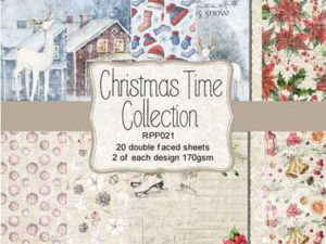 RPP021 Reprint papir 15x15, Christmas Time Collection-0