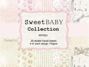 RPP023 Reprint papir 15x15, Sweet Baby Collection-0