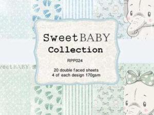 RPP024 Reprint papir 15x15, Sweet Baby Collection-0