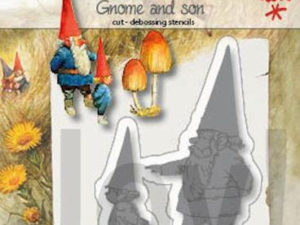 6002/1372 JOY Die Colouring Stencil Gnome And Son-0