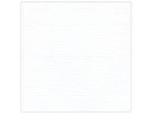 582001 Linnen Karton 30,5 x 30,5 cm, White-0
