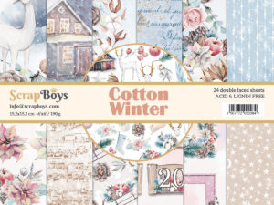 COWI-09 ScrapBoys Papers 15x15 Cotton Winter 09-0