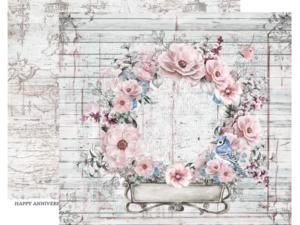 DRGA-03 ScrapBoys Papers 30x30 Dream Garden 03-0