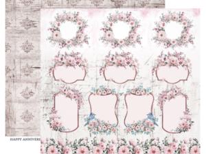 DRGA-06 ScrapBoys Papers 30x30 Dream Garden 06-0