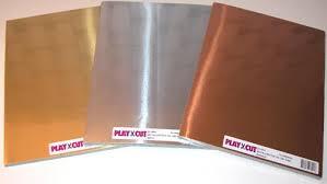 51904 PlayCut Metalkarton A4, Sølv-0