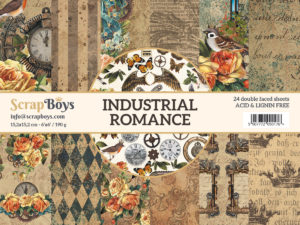 INRO-09 ScrapBoys Papers 15x15 Industrial Romance 09-0