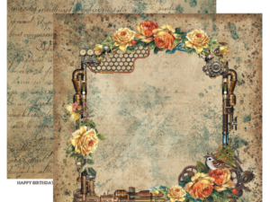 INRO-03 ScrapBoys Papers 30x30 Industrial Romance 03-0