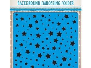 EEB023 Nellie Snellen Embossingfolder Stars And Dots-0