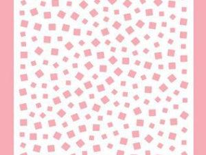 MMSA6-007 Nellie Snellen Mixed Media Stencil A6 Little Squares-0