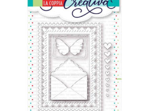 RU304 La Coppia Creativa Die, Rammer med brev-0