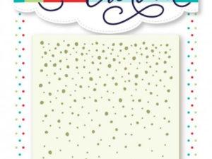 ST2 La Coppia Creativa Stencil, Dots-0