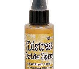 TSO64756 Ranger Tim Holtz Distress Oxide Spray Fossilized Amber-0