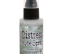 TSO64763 Ranger Tim Holtz Distress Oxide Spray Iced Spruce-0