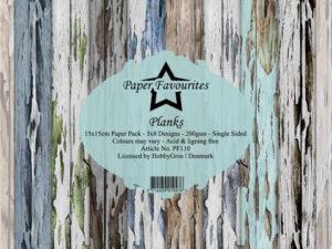 PF110 Paper Favourites, Papirsblok 15x15, Planks-0