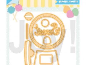 6002/1366 JOY Die Cut/Debossing, Gumball Sweets-0